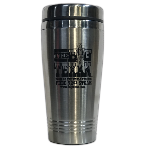 Big Texan Stainless Steel Travel Coffee Mug
