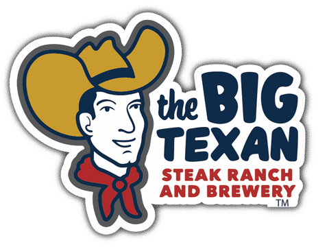 Big Texan Sticker