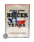 Texas Sized Playing Cards - Big Texan Amarillo Food Take-Out & Delivery