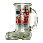 Big Texan Boot Shot Glass - Big Texan Amarillo Food Take-Out & Delivery