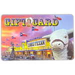 $50 Gift Card - Big Texan Amarillo Food Take-Out & Delivery