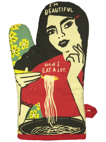 I Eat A Lot - Oven Mitt - Big Texan Amarillo Food Take-Out & Delivery