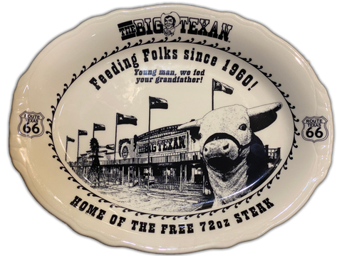 Large Big Texan Platter - Big Texan Amarillo Food Take-Out & Delivery