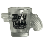 Big Texan Revolver Shot Glass - Big Texan Amarillo Food Take-Out & Delivery