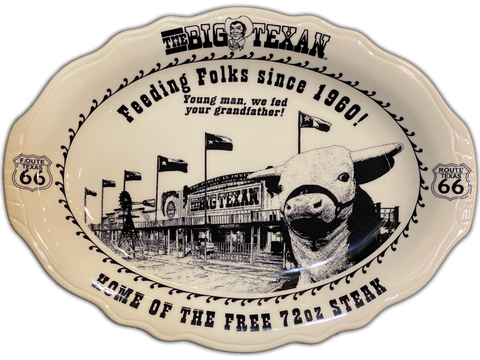 Small Big Texan Platter - Big Texan Amarillo Food Take-Out & Delivery