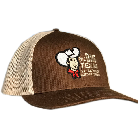 Big Texan Stitched  - Brown Trucker Hat