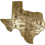 Texas Map Cutting & Seasoning Board - Big Texan Amarillo Food Take-Out & Delivery