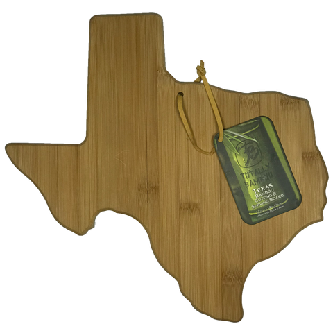 Texas Bamboo Cutting & Serving Board - Big Texan Amarillo Food Take-Out & Delivery