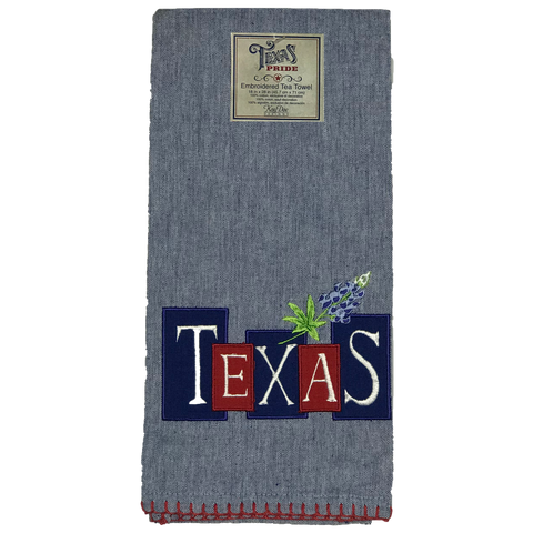 Texas Blue Bonnet Kitchen Towel - Big Texan Amarillo Food Take-Out & Delivery