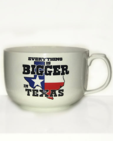 Everything is Bigger in Texas Soup Bowl - Big Texan Amarillo Food Take-Out & Delivery