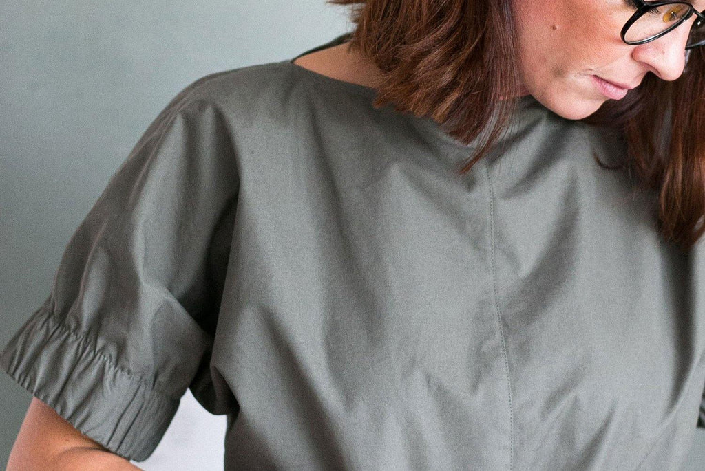 Cuff Top XS-L alterations, width and neckline