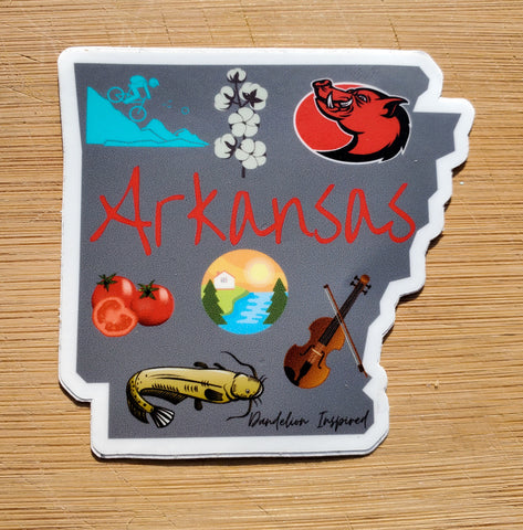 Arkansas State Sticker (#77)