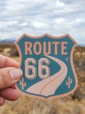 Route 66 Sticker (#141)