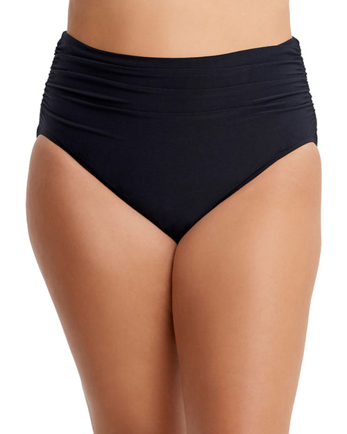 2021 Magicsuit Solids Shirred Jersey Brief