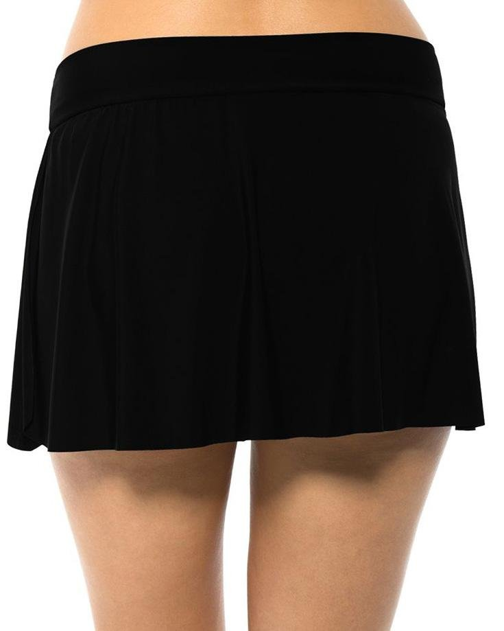 Magicsuit Solids Jersey Tennis Skirt