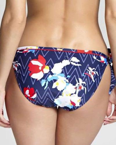 Panache Swim Milano Zig Zag Tie Side Bottom