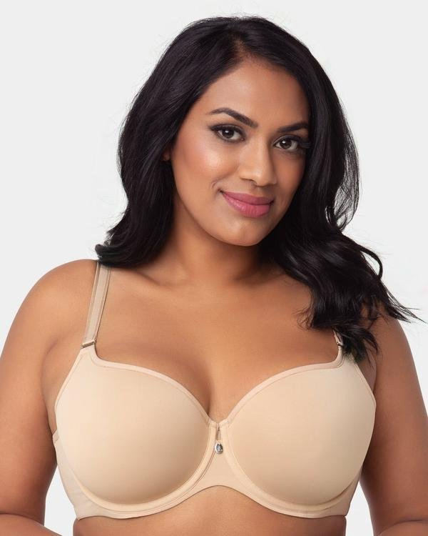Curvy Couture Tulip Smooth T-Shirt Bra