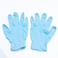 Load image into Gallery viewer, Powder Free Nitrile Gloves - Pack of 100 (S/M/L/XL)