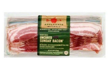 Applegate Naturals Bacon, Uncured Sunday, Hickory Smoked - 8 Ounces