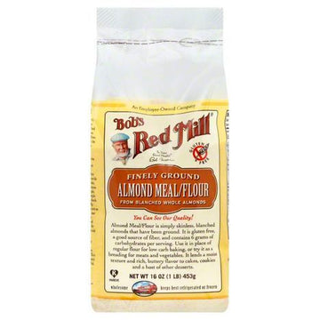 Bobs Red Mill Almond Meal/Flour, Finely Ground - 16 Ounces