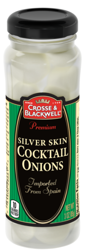 Crosse & Blackwell Silver Skin Cocktail Onions, 3 oz