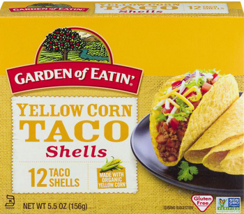 Garden of Eatin' Yellow Corn Taco Shells - 12 CT