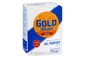 Gold Medal Flour, All Purpose - 5 Pounds