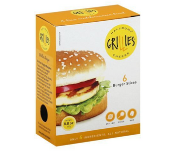 Grillies Halloumi Cheese Burger Slices - 6 Each