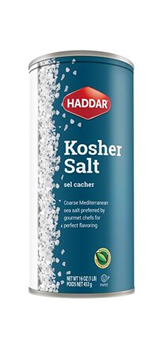 Haddar Kosher Salt- 16 oz