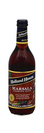 Holland House Cooking Wine Marsala - 16 Fl. Oz.