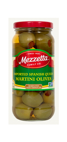 Mezzetta Imported Spanish Queen Martini Olives- 10 oz.