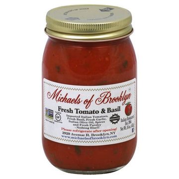 Michaels of Brooklyn - Tomato & Basil 16oz