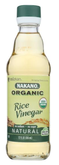 Nakano Vinegar Organic Natural Rice- 12 fl oz.