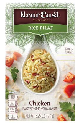 Near East Rice Pilaf Mix Chicken- 6.25 oz.