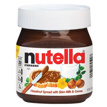 Nutella Hazelnut Chocolate Spread 13oz