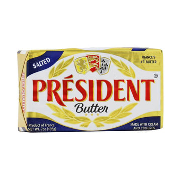 President Butter, Salted - 7 Ounces