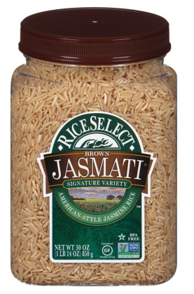 RiceSelect Jasmati Brown Rice- 30 oz.