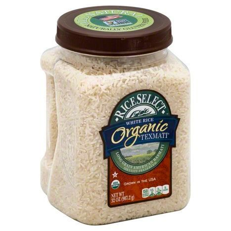 RiceSelect Organic White Rice, Long Grain American Basmati - 32 oz.