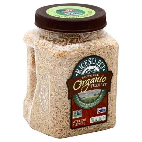 RiceSelect Texmati, Brown Rice, Organic - 32 Ounces