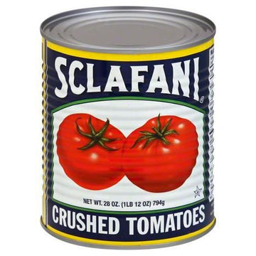 Sclafani Tomatoes, Crushed - 28 Ounces