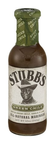 Stubbs Baste, Dip or Marinade, Green Chile - 12 Ounces