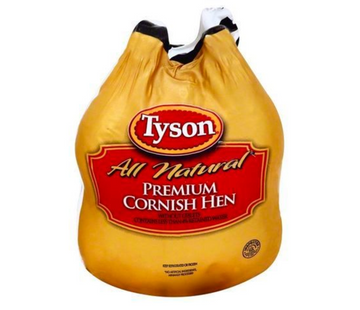 Tyson Cornish Hen, Premium (Frozen)