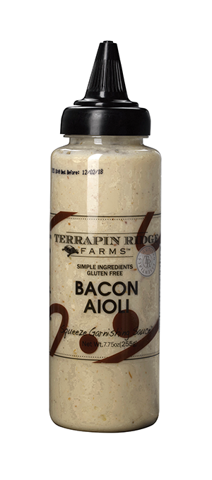 Terrapin Ridge Farms Bacon Aioli Garnishing Squeeze 9oz