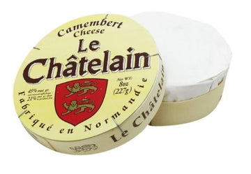 Le Chatelain Cheese, Soft Ripened, Camembert - 8 Ounces