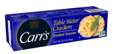 Carr's Table Water Crackers Toasted Sesame