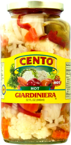 Cento Hot Giardiniera 32oz