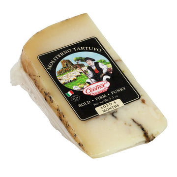 Central Cheese Moliterno Al Tartufo Wedge 5.3oz