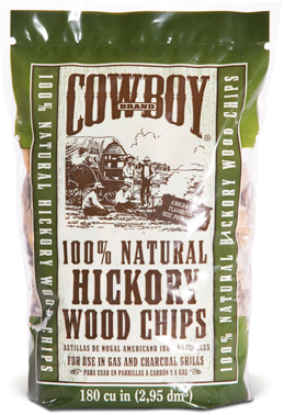 Cowboy 100% All Natural Hickory Wood Chips