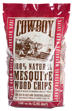 Cowboy 100% All Natural Mesquite Wood Chips