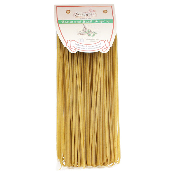 Sbiroli Garlic & Basil Linguine 8.8oz